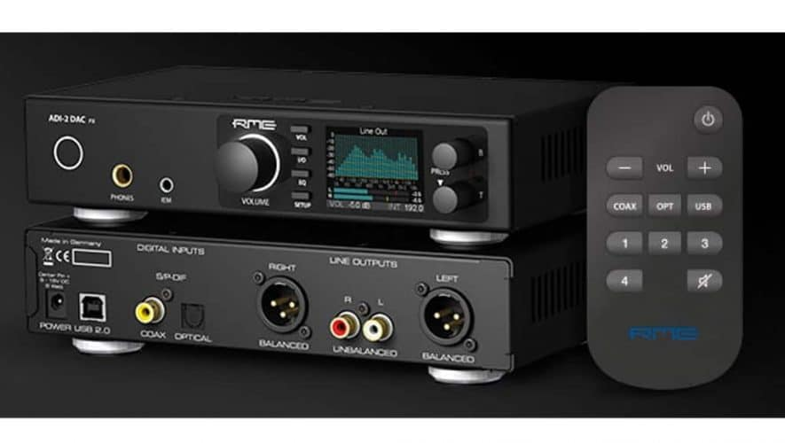 RME Audio presenteert de ADI-2 DAC