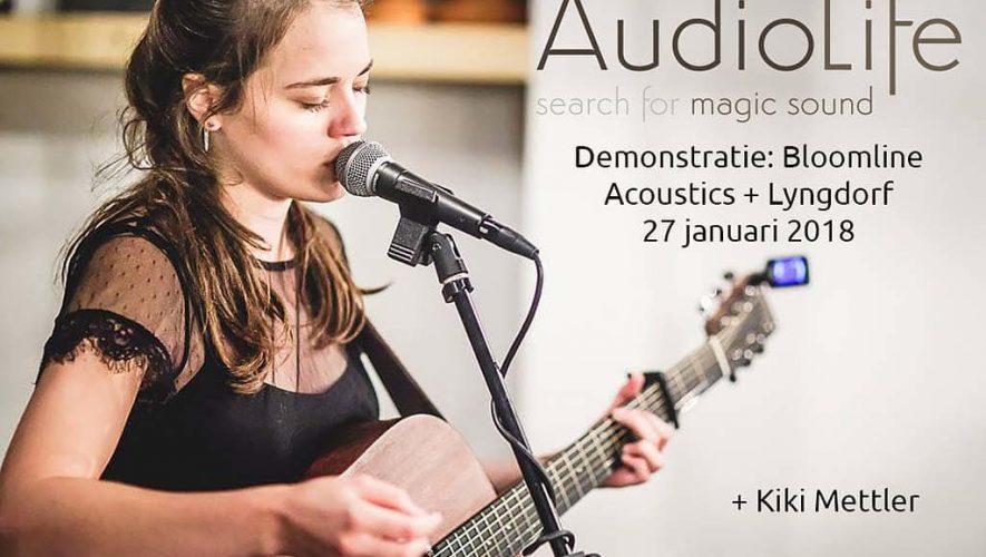 Op 27 januari kunt u bij Audio-Life terecht voor een feestelijke en muzikale workshop met Bloomline Accousitics en Lyndorf Audio
