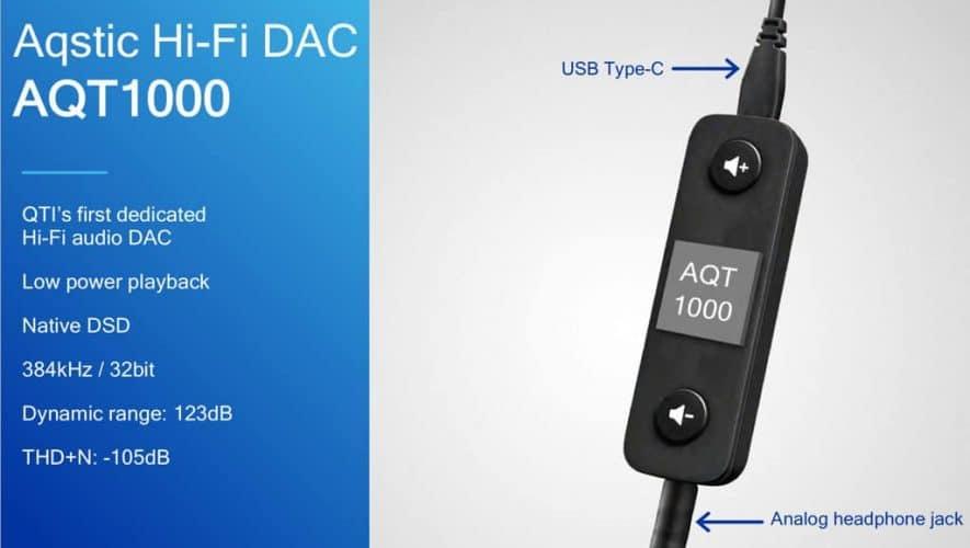 Qualcomm presenteert de AQT1000 DAC