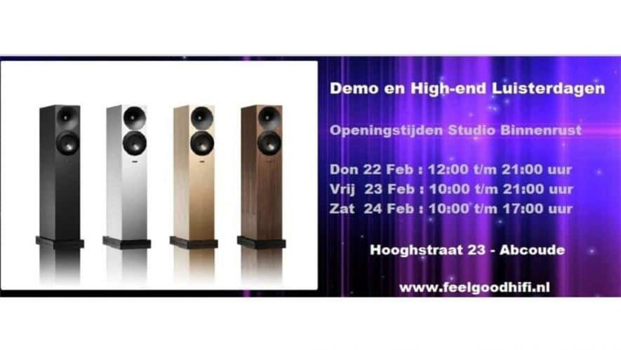 Feel Good Hifi organiseert demodagen én opent een nieuwe luisterruimte