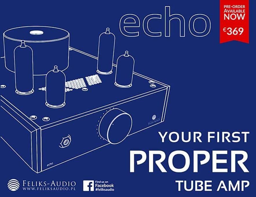 Feliks Audio presenteert de betaalbare Echo hoofdtelefoonversterker