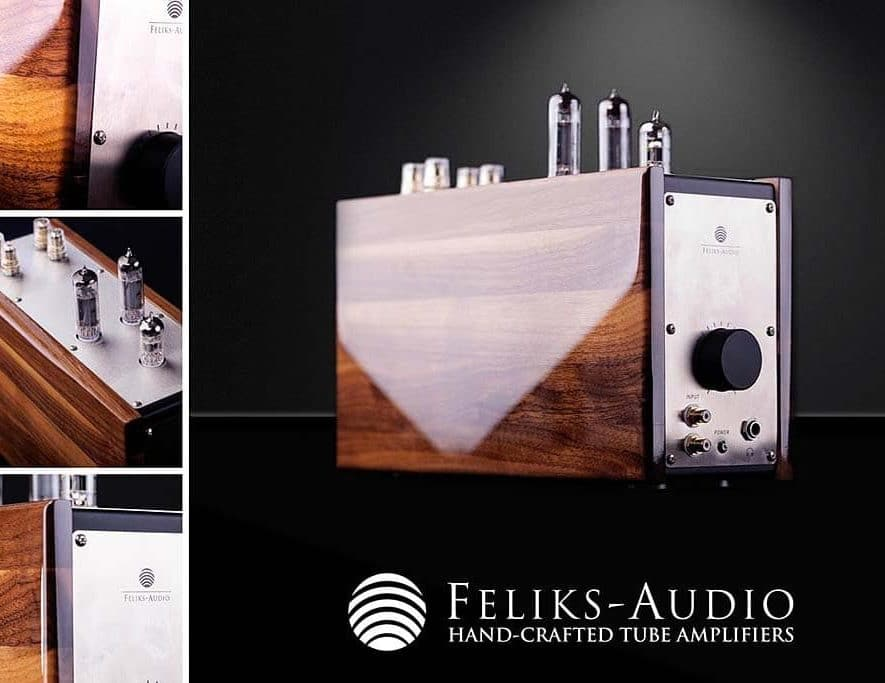 Het prototype van de nieuwe compacte buizenversterker van Feliks Audio