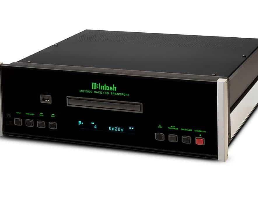De nieuwe MCT500 (SA)CD-speler van McIntosh