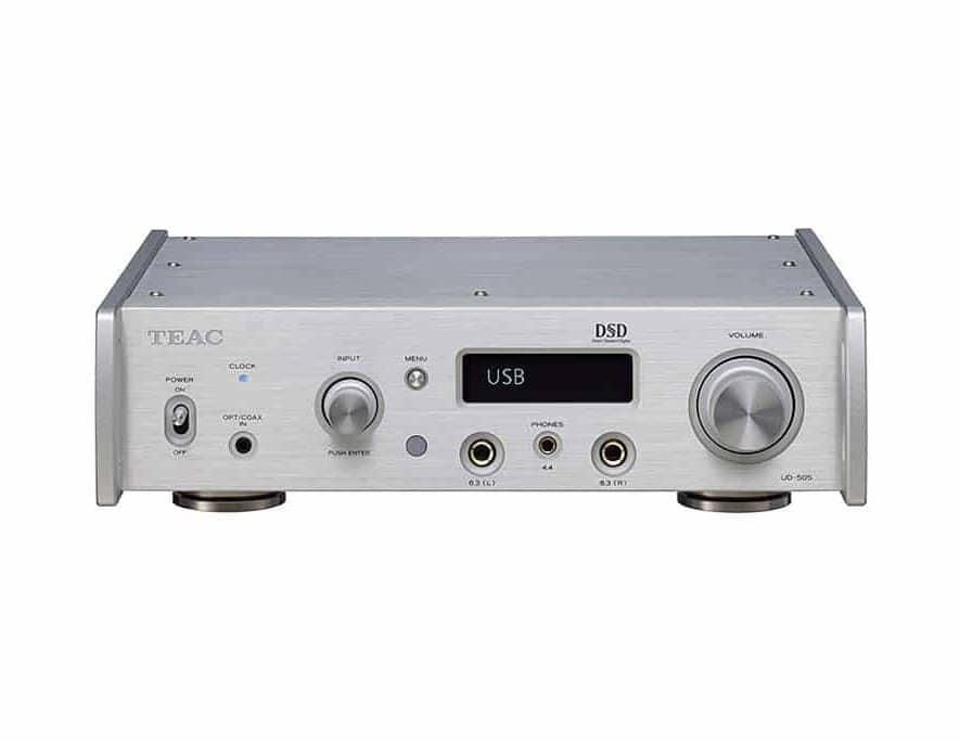 De TEAC UD-505, een DAC/hoofdtelefoonversterker