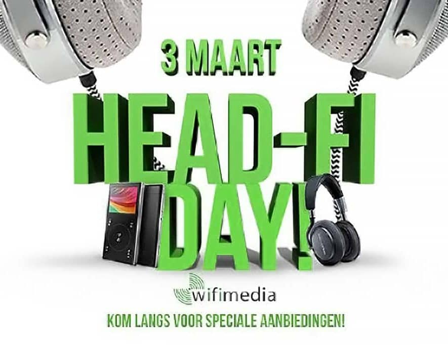 Wifimedia organiseert op zaterdag 3 maart een show rondom de thema's personal audio en head-fi