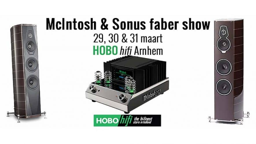 McIntosh en Sonus faber show bij HOBO hifi Arnhem