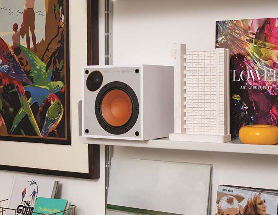 De heerlijk compacte '50' van Monitor Audio