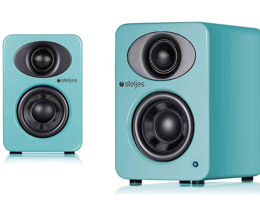 De NS1 van Steljes Audio is in een waaier aan kleuren verkrijgbaar