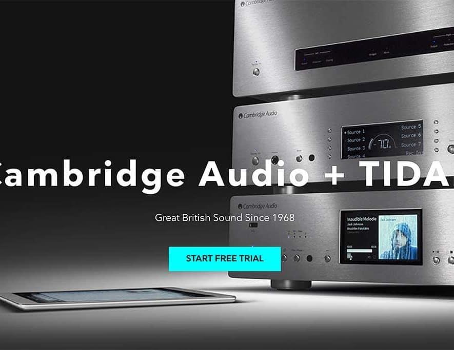 Bezitters van de Cambridge Connect en Stream Magic netwerkspelers kunnen nu ook Tidal-streams afspelen