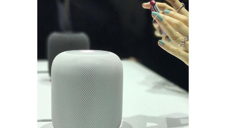 De HomePod van Apple