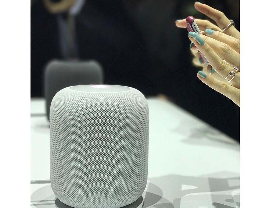 De HomePod van Apple