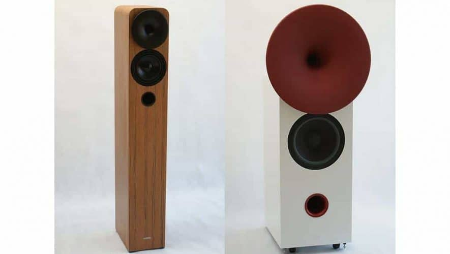 De Aria mini en Symphony speakers van hORNS