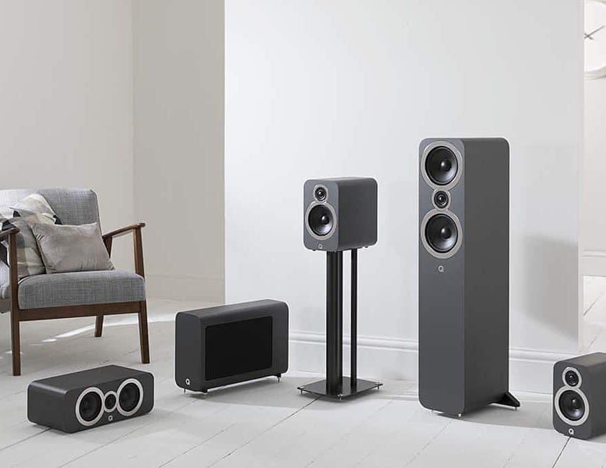 De nieuwe 3000i serie van Q Acoustics