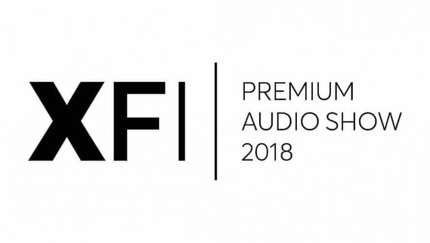 Het duurt nog even, maar hij komt er weer aan: de XFI Premium Audio Show 2018