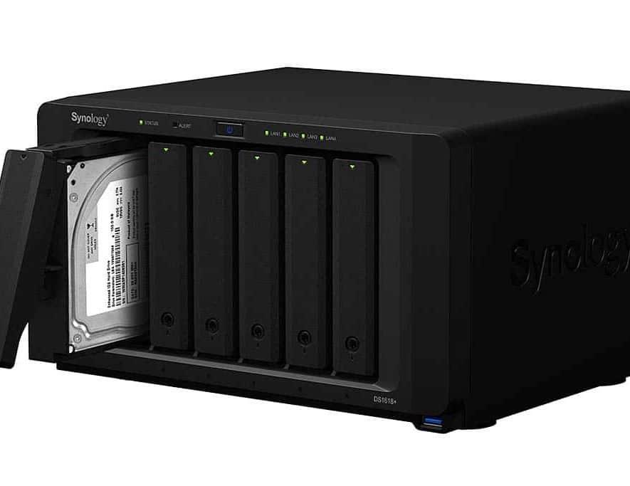 De nieuwe DiskStation DS1618+ van Synology