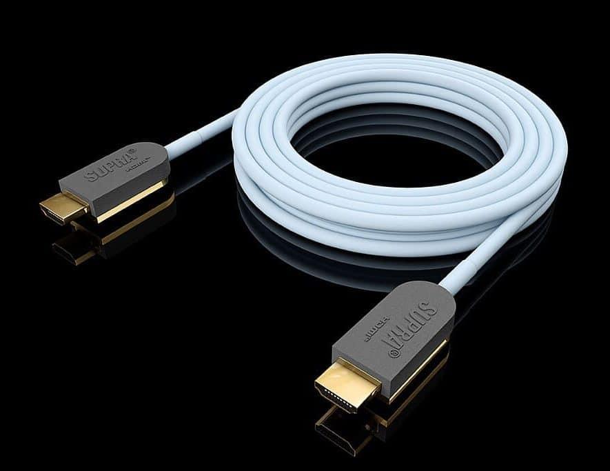 De optische HDMI-kabel van Supra
