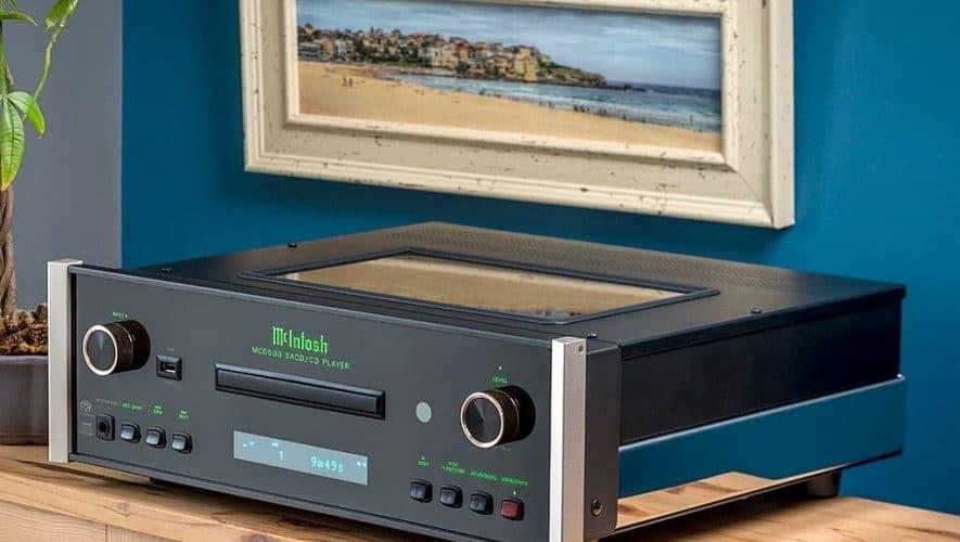 De McIntosh MCD600 AC SACD-speler