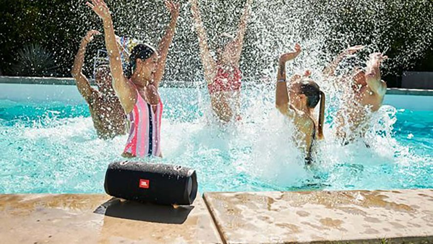 De JBL XTREME 2 waterdichte portable speaker