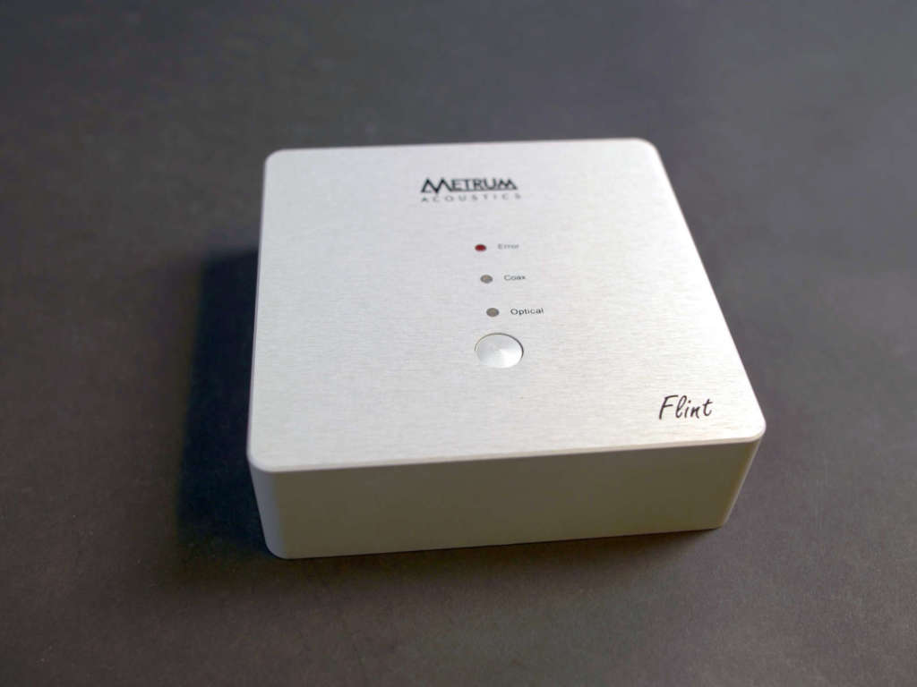Video Metrum Acoustics Flint d/a-converter - Alpha-Audio