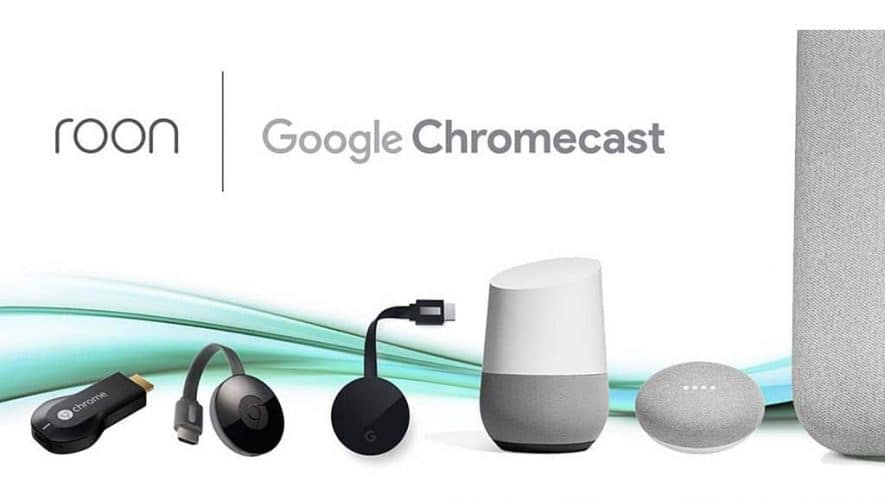 Roon ondersteunt nu ook streamen naar Chromecast