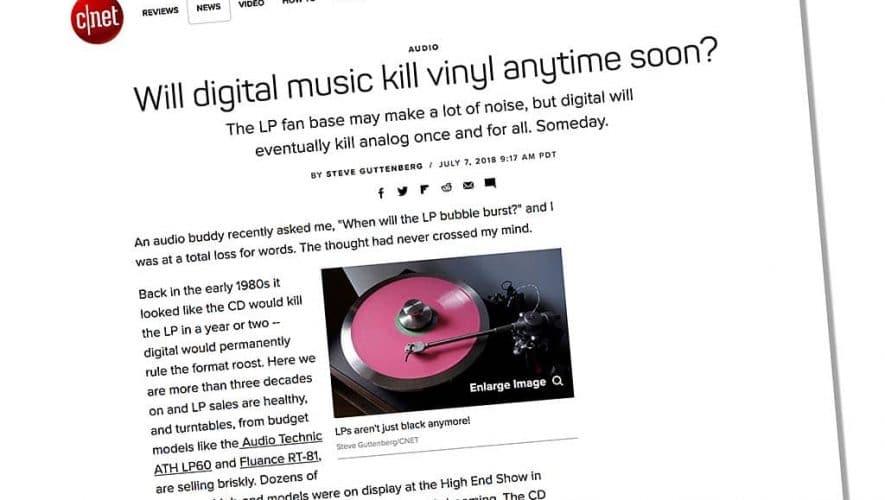 Wanneer barst de vinyl-zeepbel eindelijk...?