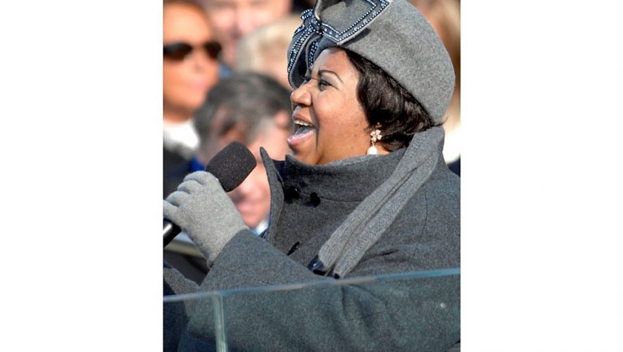 Aretha Franklin op 76-jarige leeftijd overleden (bron afbeelding: https://commons.m.wikimedia.org/wiki/File:Aretha_Franklin_on_January_20,_2009_(cropped).jpg#mw-jump-to-license)