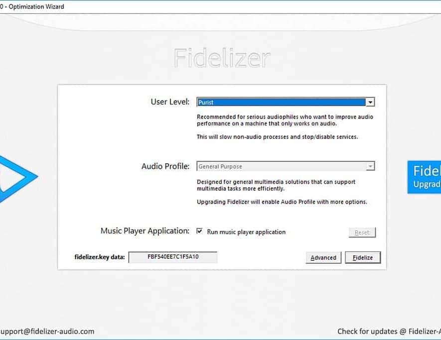 De gratis versie van Fidelizer in actie