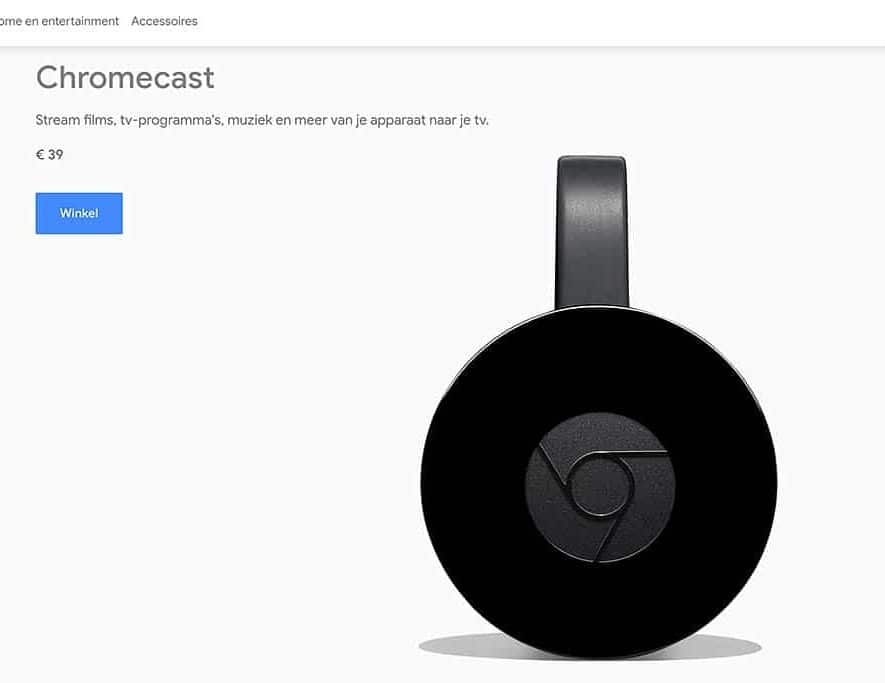 De Google Chromecast krijgt mogelijk in oktober dit jaar een upgrade in de vorm van een nieuwe versie