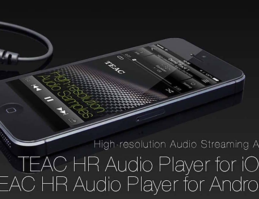 De HR Streamer app van TEAC