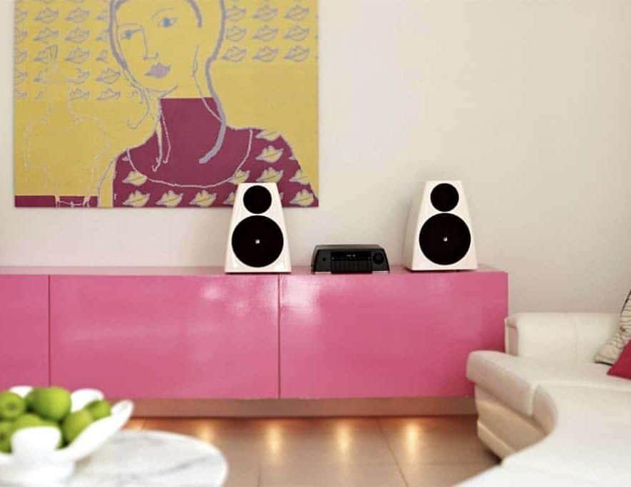 De Meridian DSP3200 actieve speakers