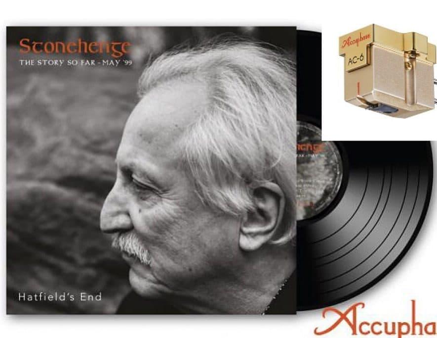 Intro Accuphase MC-element en vinylalbum Hatfield's End