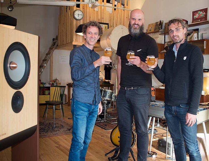 GRIMM Audio tekent sponsorcontract voor UNIFONY album