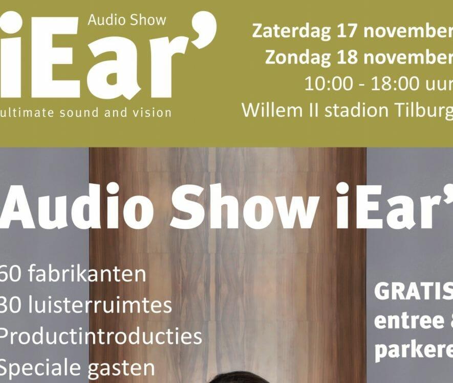 De Audio Show iEar staat weer op stapel