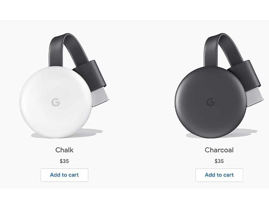 De nieuwe Google Chromecast