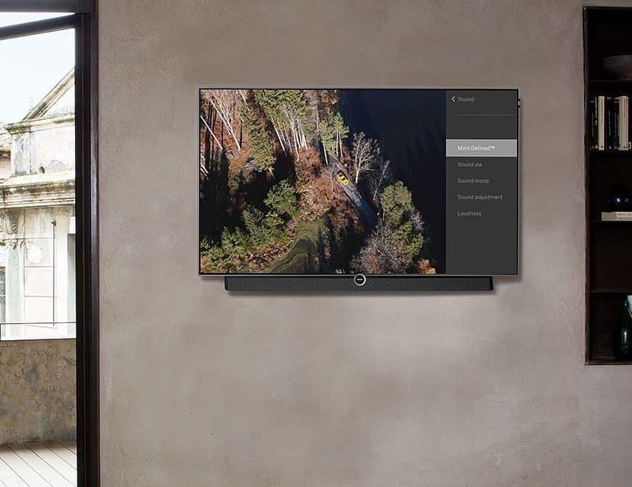 Op Loewe tv's kunt u na een firmware-update genieten van persoonlijk geluid