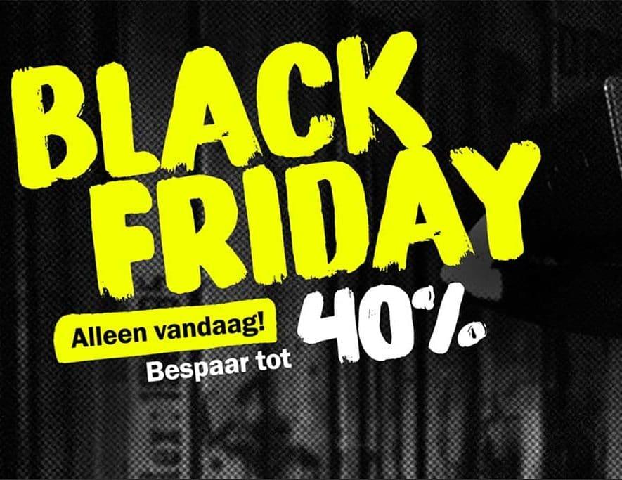 Het is wqeer Black Friday bij Teufel