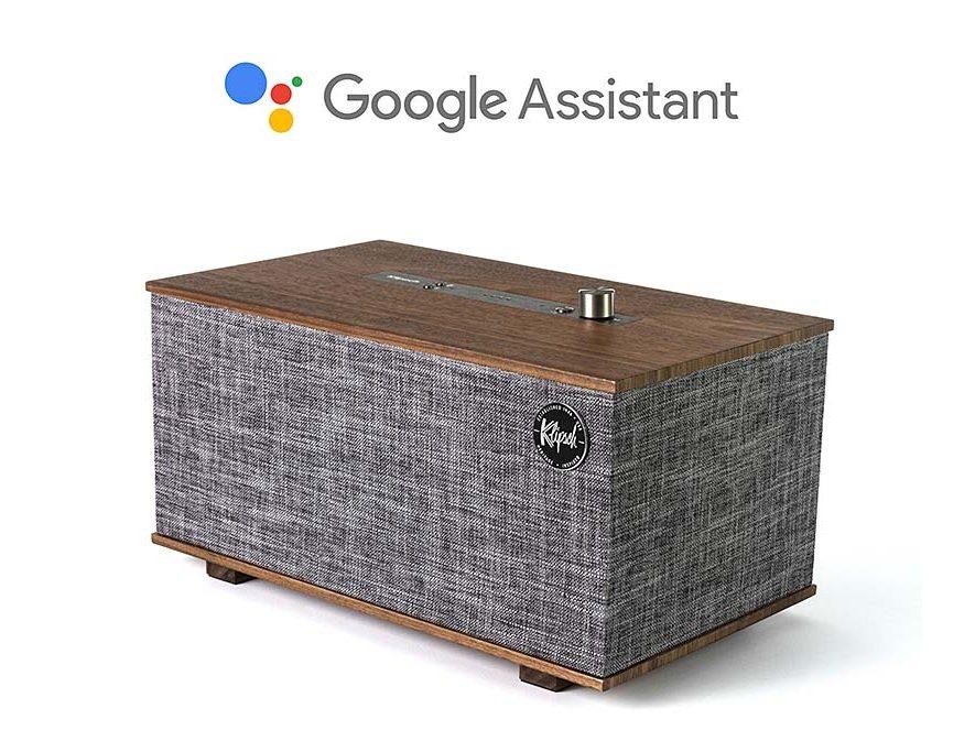 The Three | Google Assistant smart speaker van Klipsch
