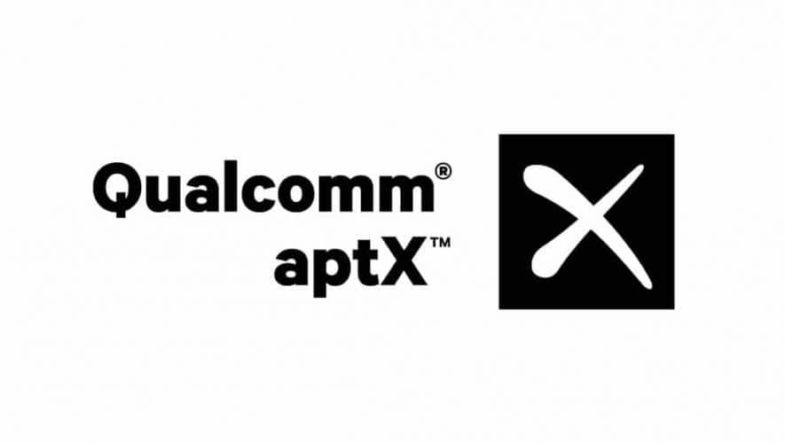 De nieuwe Qualcomm Snapdragon 855 heeft Bluetooth aptX aan boord (bron afbeelding: https://commons.wikimedia.org/wiki/File:QC_aptX_Vertical_Black_4754.png)