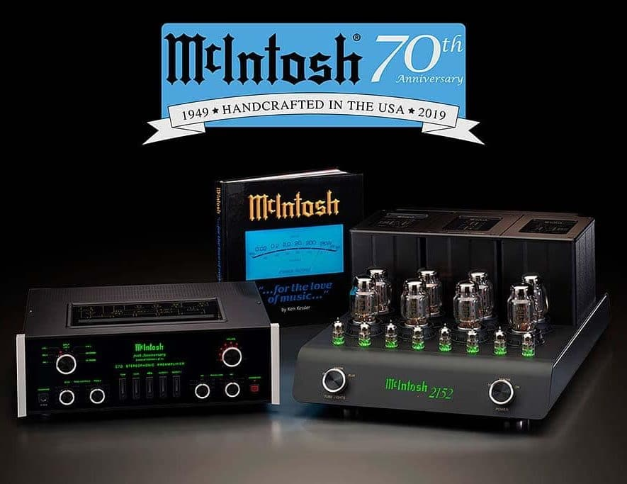 Het Limited Edition Commemorative System van McIntosh