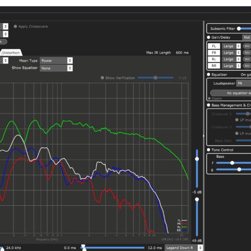 Van midden naar monitoring - 12 ms