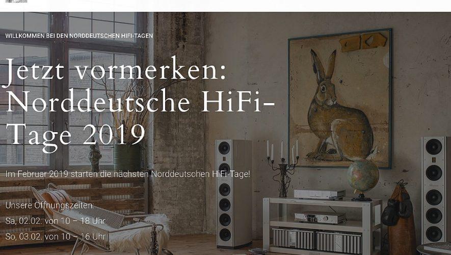 De Norddeutsche HiFi-Tage komen er weer aan