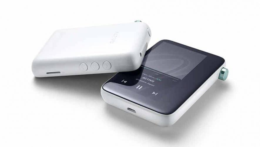 De ACTIVO CT10 highres portable muziekspeler