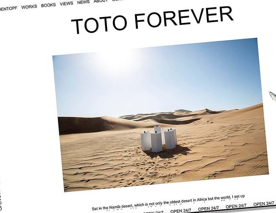 Toto's Africa speelt 'voor altijd' in Afrikaanse woestijn