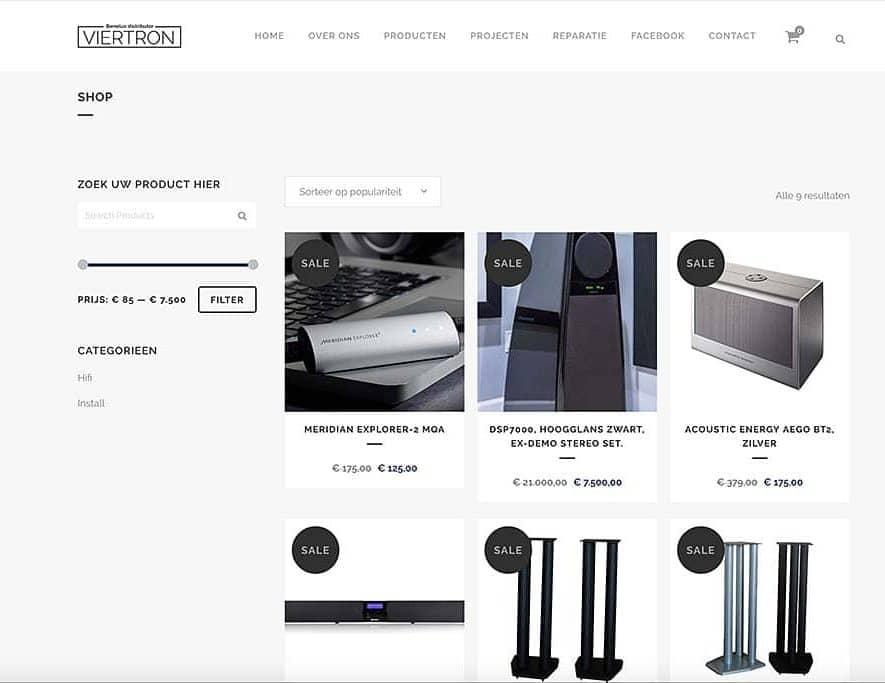Viertron begint eigen webshop met restpartijen en meer