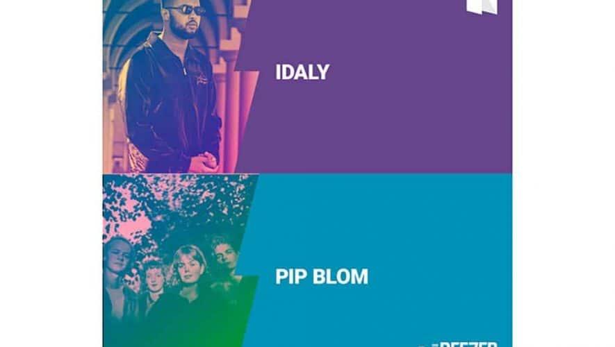 Idaly en Pip Blom eerste Nederlandse Deezer NEXT-acts dit jaar