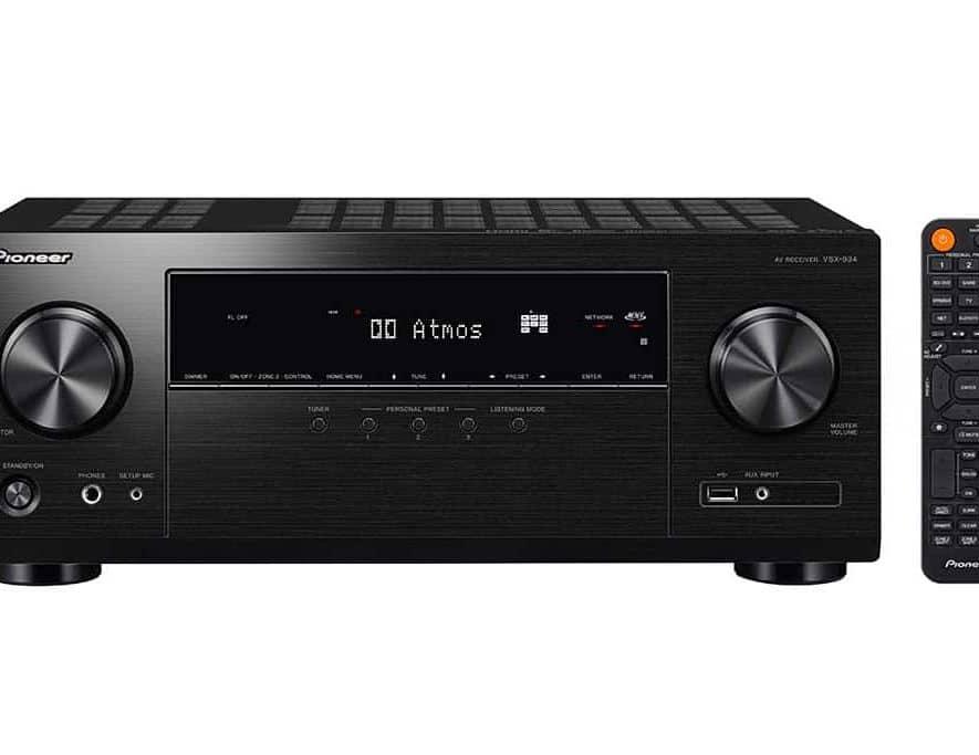 De Pioneer VSX-934 AV-receiver