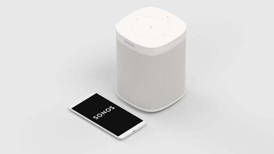 YouTube Music afspeelbaar op Sonos speakers