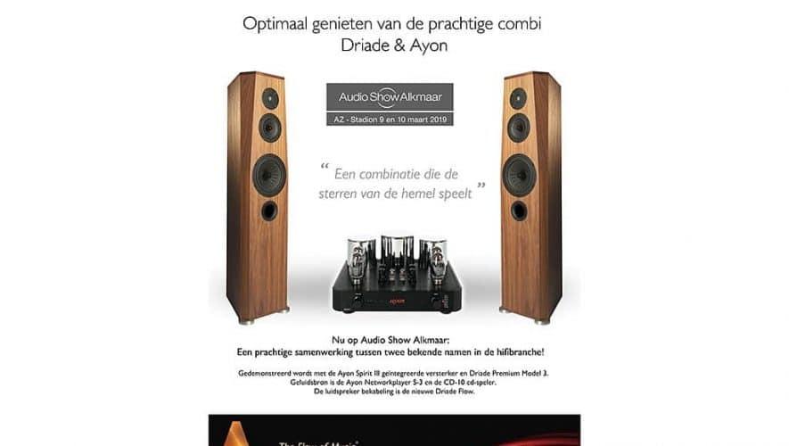 Driade en Ayon op Audio Show Alkmaar