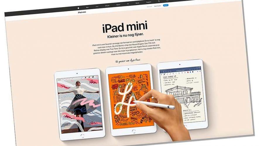 Eindelijk is er weer een nieuwe iPad Mini, maar ook de iPad Air is opgefrist
