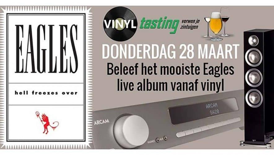 Eagles op vinyl, Arcam en Paradigm Prestige bij Hobo Hifi